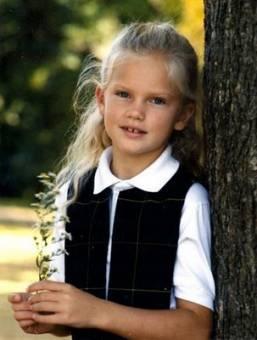 Porque desde pequeña era preciosa