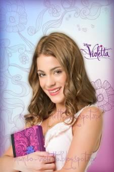 Violetta la mas hermosa