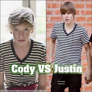 Que Gane el Mejor! Justin Bieber VS Cody Simpson-Unos Rivales sin Fin.
