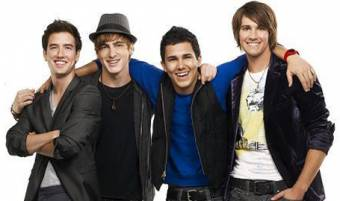 Logan Henderson,Kendall Schmidt,James Maslow y Carlos pena(Big time rush