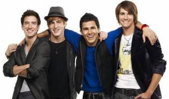 Logan Henderson,Kendall Schmidt,James Maslow y Carlos pena(Big time rush