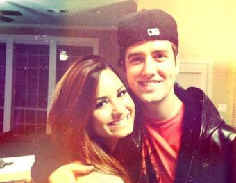 Logan Henderson Y Demi Lovato