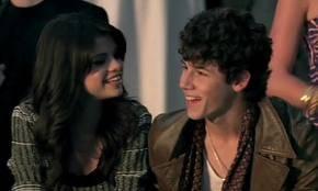 Selena y Nick Jonas.