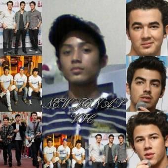 Los Jonas con el 4 Jonas ( Vic Jonas )