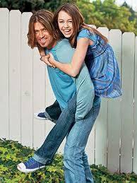 Miley y su papa