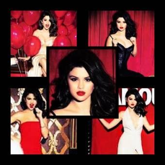 Selena Gomez revista Glamour.