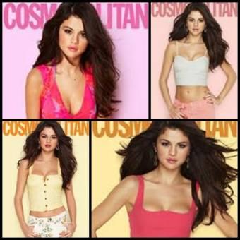 Selena Gomez revista Cosmopolitan.