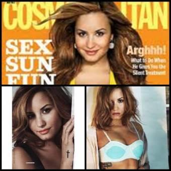 Demi Lovato revista Cosmopolitan.