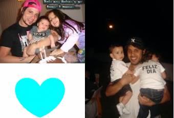 los 2 quedan bellos como papa!♥