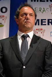 Daniel Scioli -frente para la victoria