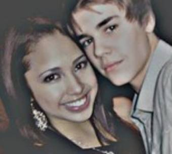 Jasmine Villegas and Justin Bieber