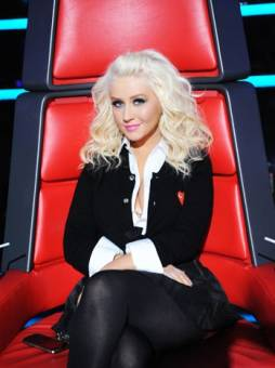 Christina Aguilera the voice