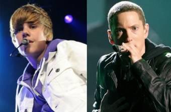 Justin Bieber y Eminem