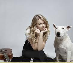 taylor swift y su perro