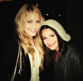 Lea Michele & Diana Agron