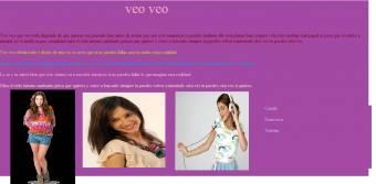 Violetta no hizo ningun concierto pero tienen muchas cosas y tienen al famoso actor Diego ramoz.