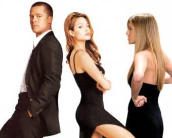 Brad Pitt & Angelina Jolie = Jeniffer Aniston  DIOSAAAAAAAAAAAA