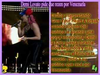 Pide que rezen por Venezuela