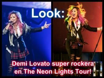Demi Lovato mas rockera que nunca!