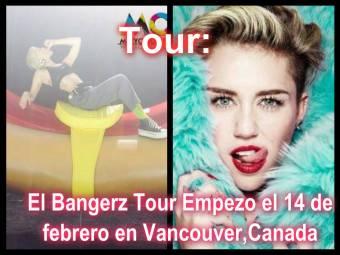 Mira el Bangerz Tour de Miley Cyrus