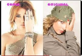 Miley le copia a Belinda