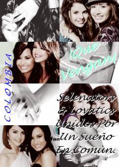 !Selena Gòmez & Demi Lovato Para Colombia¡