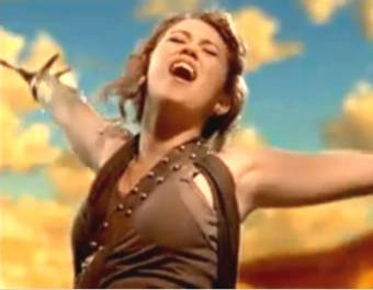 Miley cyrus video The Climb  ORIGINAL