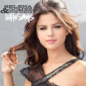 Selena gomez portada de su single Who Says  COPIA