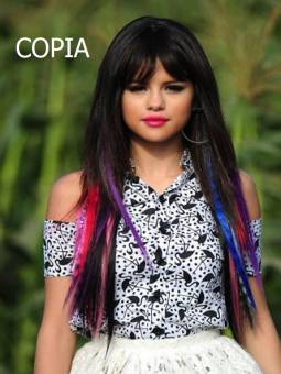 Selena gomez pelo de colores COPIA