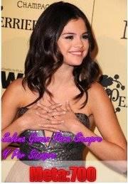 Selena Gomez para siempre y por siempre