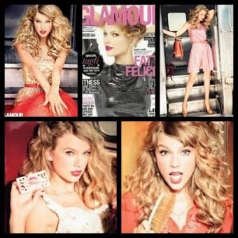 Taylor Swift, revista Glamour.