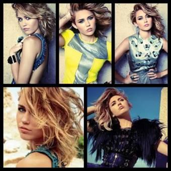 Miley Cyrus, revista Marie Claire.