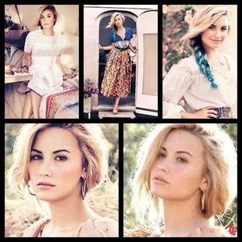 Demi Lovato, revista Vogue.