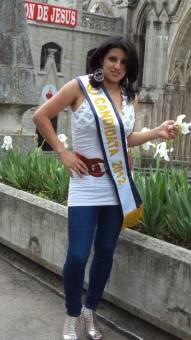 Srta. fotogenia Enma Garcia