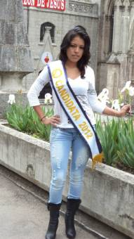 Srta. fotogenia Liseth Eras