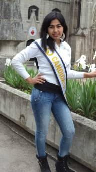 Srta. fotogenia Karina Castillo