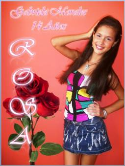 """GABRIELA MORALES, 14 A�OS """"ROSA"""""""