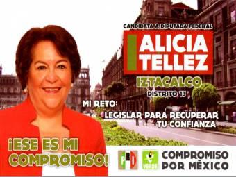 Candidata a Diputada Federal Dtto. 13 Iztacalco ALICIA T�LLEZ S�NCHEZ