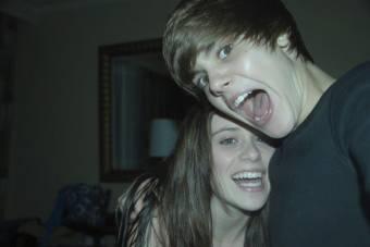 Justin Bieber y Caitlin Beadles