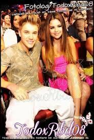 Pareja 10 Justin Bieber y Selena Gomez
