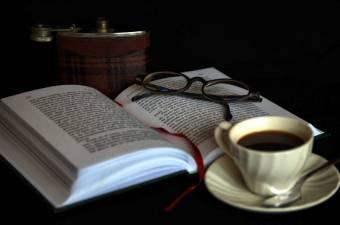 Lectura y Carajillo en una tarde de invierno