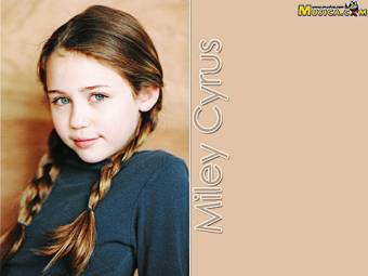 miley de peque�a