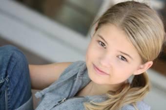 Stefanie Scott (Programa de Talentos) 10 años