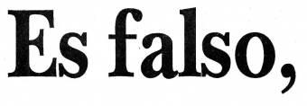 falsisimo