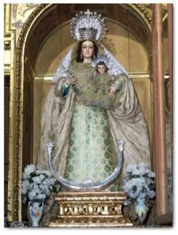 Virgen del Rosario ( Hinojos )