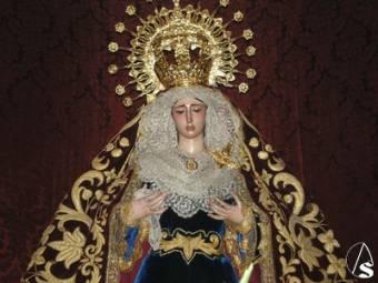 Virgen de la Soledad ( Pilas )