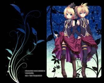 Rin y Len Kagamine