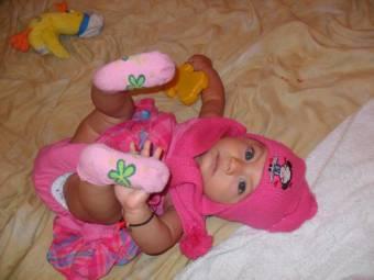mi bebe hermosa con ganas de estar en el calendario winny 2012