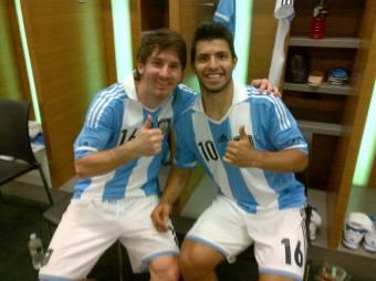 Messi - Aguero