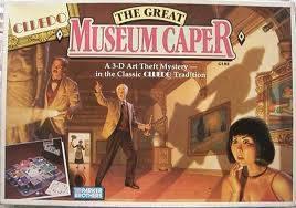 CLUE art museum caper